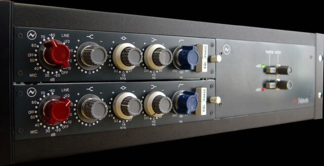 The Neve 1073 pre-amp