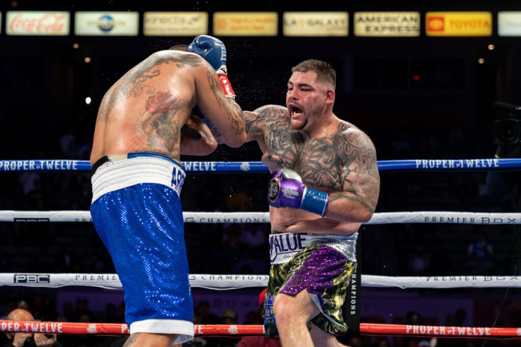 Andy Ruiz Jr partnered with Google for Hispanic Heritage Month